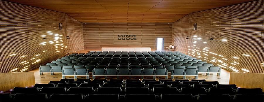 Auditorio del Centro de Cultura Contemporánea Condeduque.